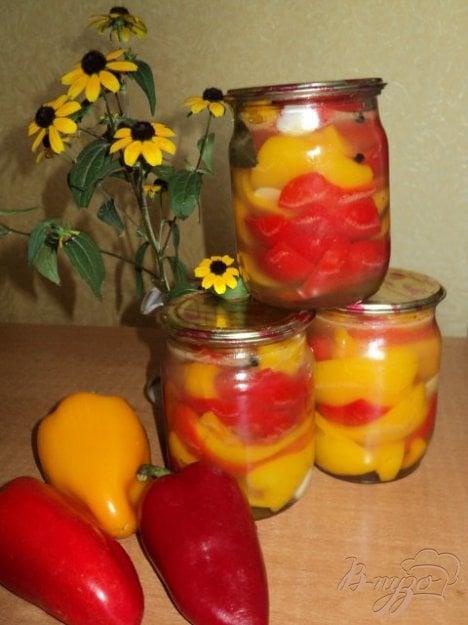 Рецепт Перец маринованный с медом.