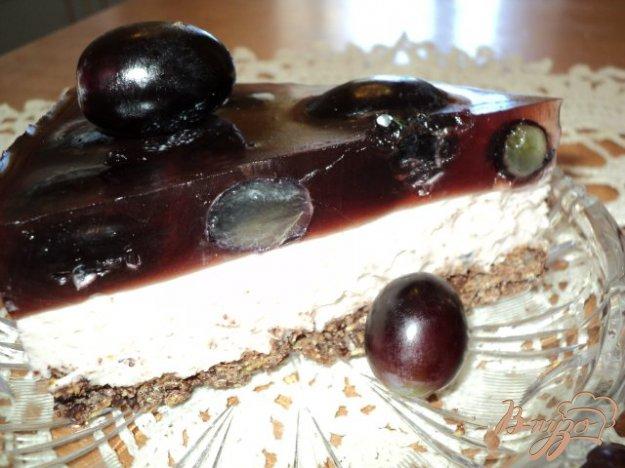 Рецепт Виноградный торт.