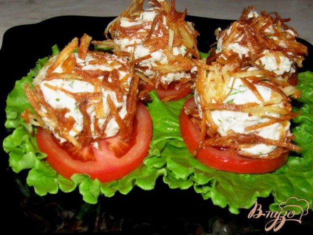 фото рецепта: Картофельные ежики