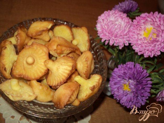 Рецепт Печенье «Грибочки»