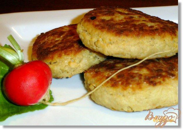 Рецепт Биточки картофельно-яблочные с хреном