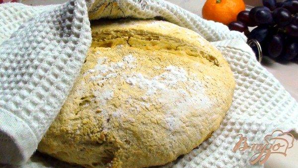 фото рецепта: Кукурузный хлеб на дрожжах.