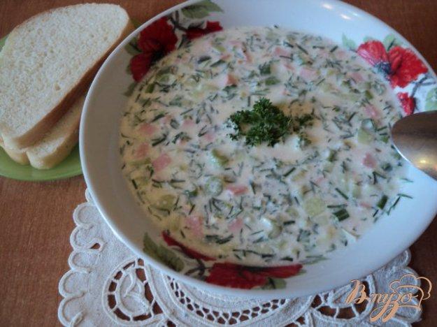 Рецепт Окрошка на кефире и айране.