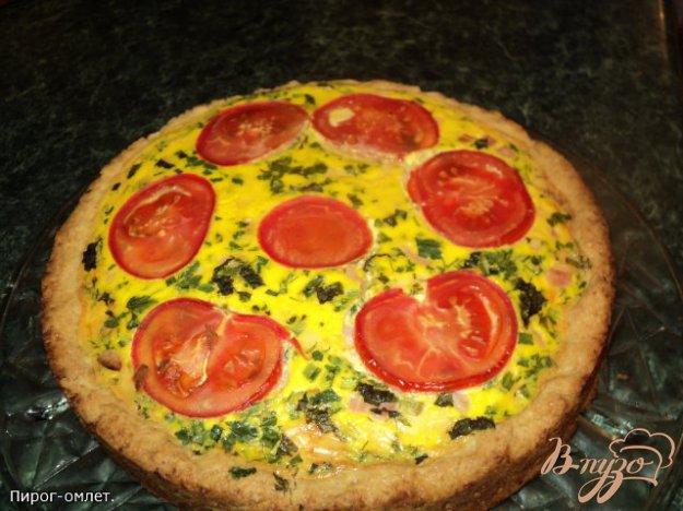 фото рецепта: Пирог омлет.