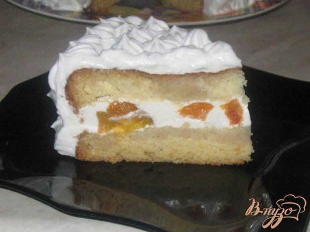 """Рецепт Торт со сметанно-творожным желе """"Воздушный"""""""