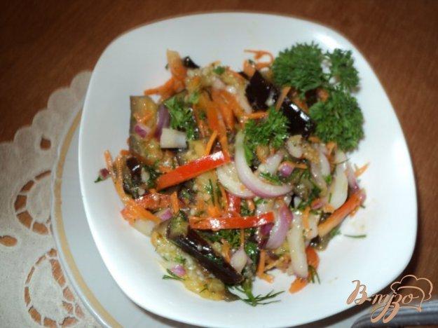 Рецепт Салат из баклажан и перца «Ассорти»