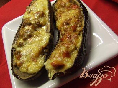 фото рецепта: Баклажаны, фаршированные овощами