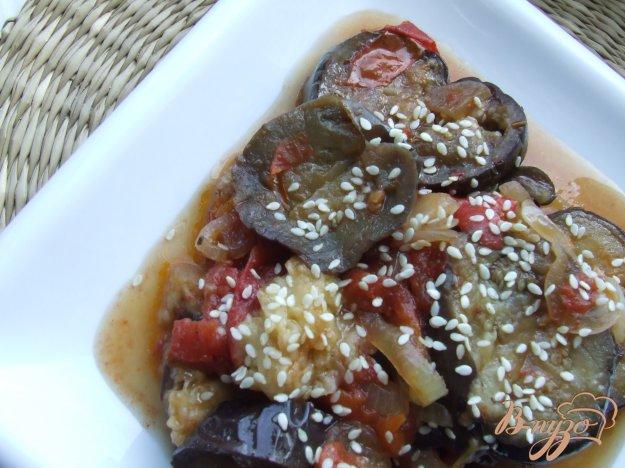 фото рецепта: Меживо из баклажан