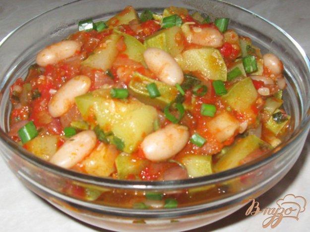 Рецепт Кабачки с фасолью