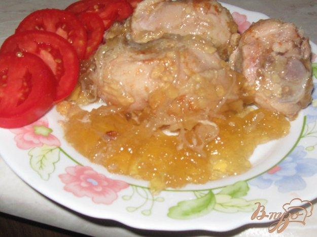 Рецепт Курица в желе из банки