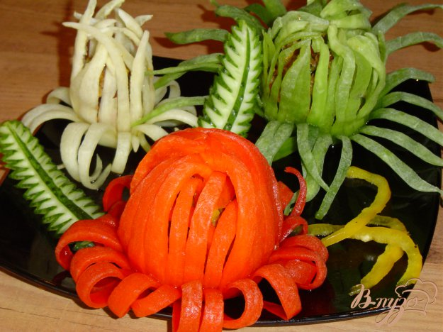 Рецепт Закуска «Летние цветы»