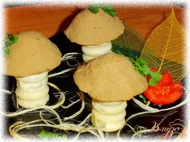 Рецепт Закуска «Грибная полянка»