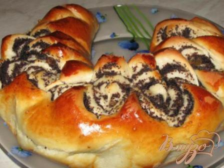 Рецепт Рулеты с маком и изюмом