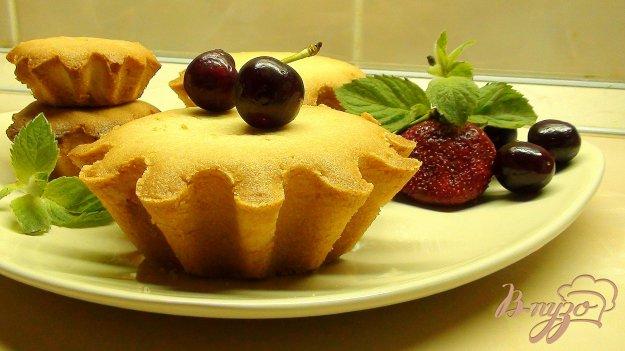 Рецепт Лимонные кексы с варёной сгущенкой, или история о том, как я пыталась испечь вафли.