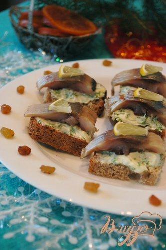 фото рецепта: Аппетитная закуска из сельди