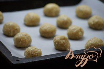 Лимонно-овсяное печенье с имбирем