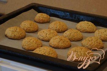 Рецепт Лимонно-овсяное печенье с имбирем