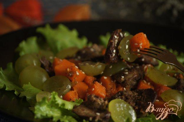 Рецепт Теплый осенний салат