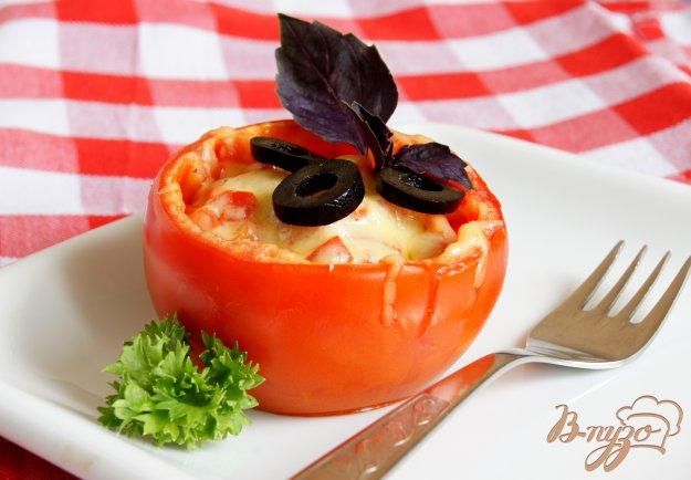 Рецепт Помидоры, запеченные с телятиной и перцем