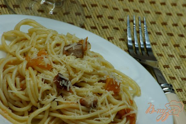 фото рецепта: Spaghetti Amatriciana