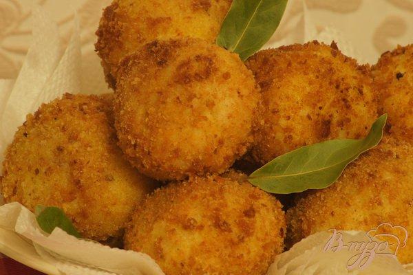 Рецепт Аранчини (рисовые крокеты)
