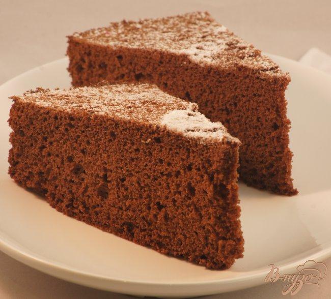 Рецепт Генуэзский бисквит (шоколадный)