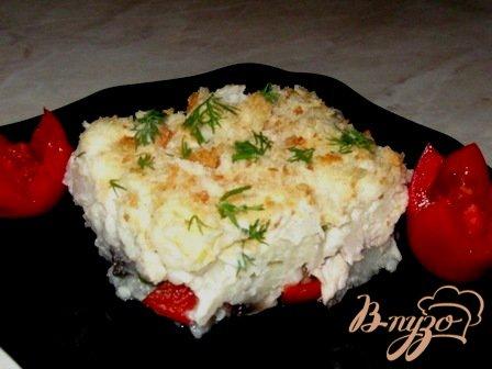 Рецепт Гратен с цветной капустой и грибами