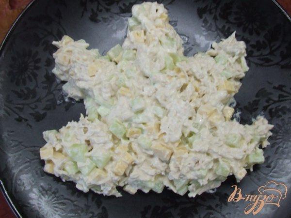 салат осенний лист с рецептом