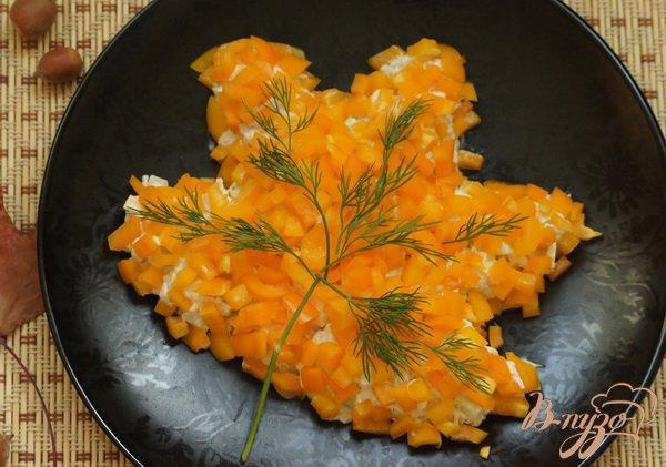Рецепт Салат «Осенний лист»