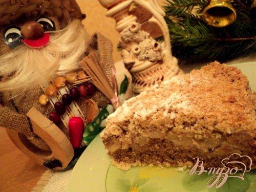 Пирог яблочный из цельнозерновой муки