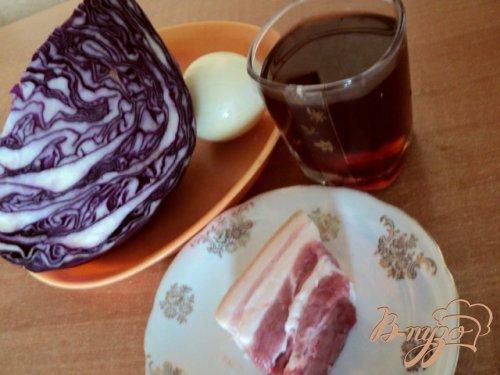 Covolo rosso – Капуста краснокачанная со шпиком в вине.