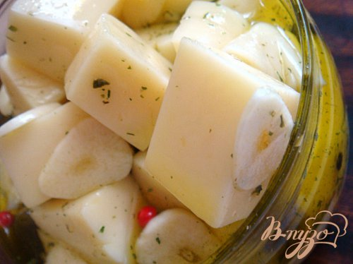 сыр маринованный в русском стиле