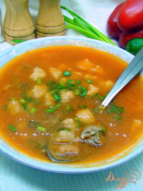 Суп с клёцками пошаговый рецепт с курицей без картошки рецепт