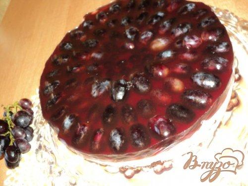 Виноградный торт.