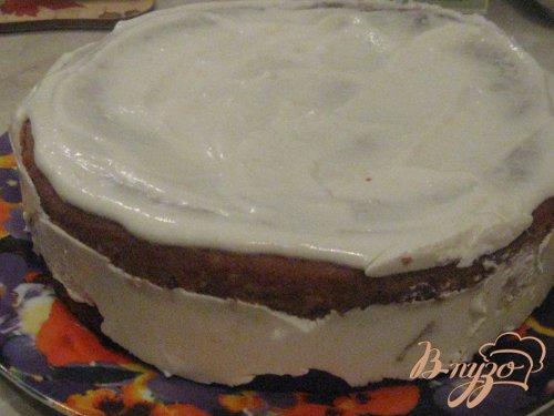 """Торт со сметанно-творожным желе  """"Воздушный"""""""