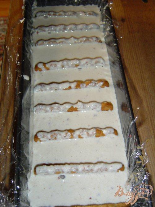 Торт творожный с черешней и малиной