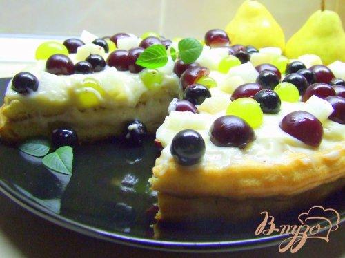 Торт «ЗАВАРУШКА»! Заварное тесто, заварной крем и много свежих ягод-фруктов!