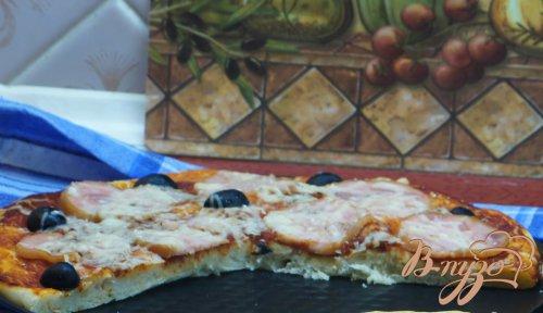 Пицца с ветичиной