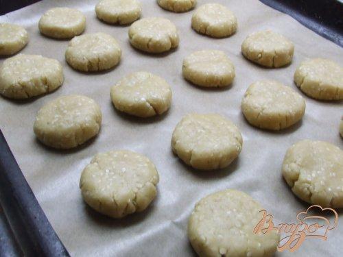 Медово-кунжутное печенье