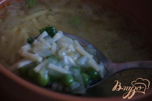 Гороховый суп из Алматуры (minestra di piselli di almatura)