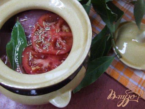 Телятина в красном вине с помидорами