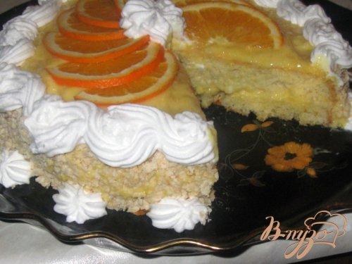 """Торт """"Апельсиновый аромат"""""""