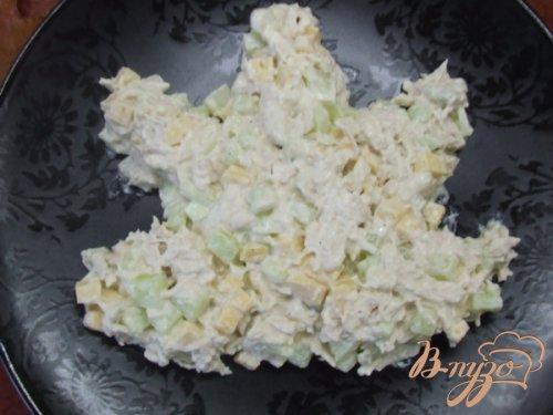 Салат «Осенний лист»