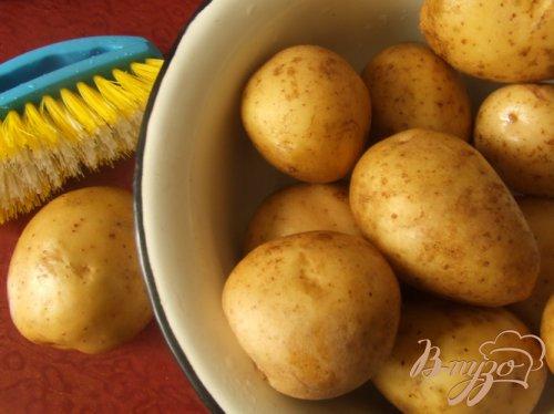 Вкусный картофель по-деревенски