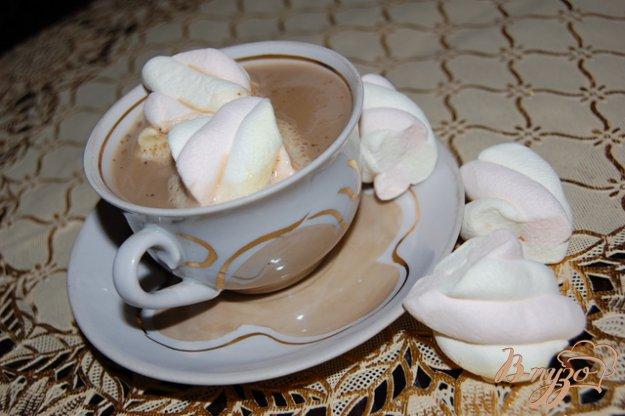 Рецепт Кофе с нежной пенкой из маршмеллоу