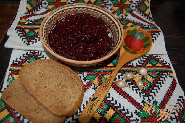 Рецепт Постный свекольный салат