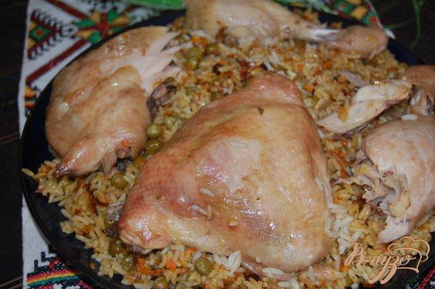 Рецепт Всегда удачный рис приготовленный под фольгой