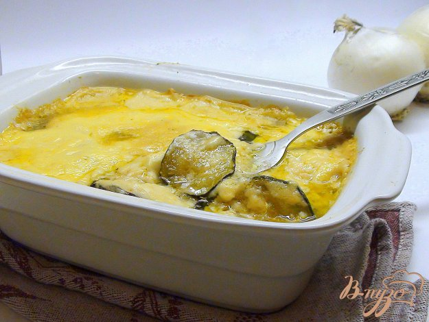 фото рецепта: Гратен из кабачков (цукини).