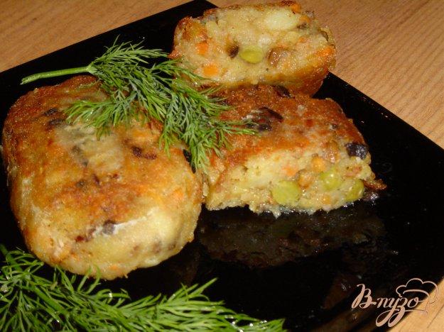 Рецепт Вегетарианский бифштекс