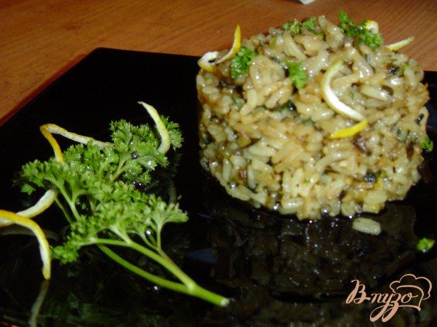 фото рецепта: Рис со шпинатом